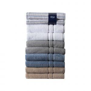 Silentnight 100% Cotton 525GSM Towels - 2 Piece Bath Sheet Set