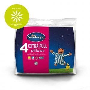 Silentnight Extra Full Anti-Allergen Pillows - 4 Pack