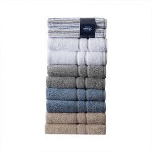 Silentnight 100% Cotton 525GSM 2 Piece Bath Towel Set
