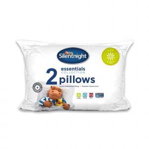 Silentnight Essentials Anti Allergy Plus Pillow - 2 Pack