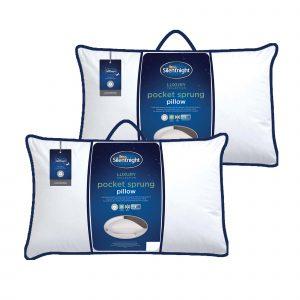 Silentnight Pocket Sprung Pillow - Pack of 2