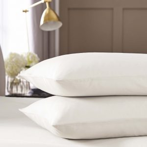 Silentnight Pure Cotton Housewife Pillowcase Pair