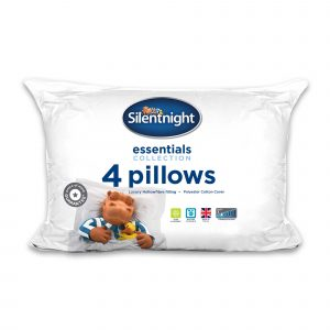 Silentnight Hollowfibre Essential Pillow - 4 Pack