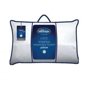 Silentnight Impress Memory Foam Pillow - Soft