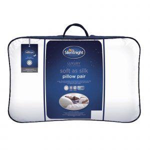 Silentnight Soft As Silk Pillow - 2 Pack