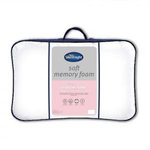Silentnight Soft Impress Memory Foam Pillow