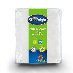 Silentnight Anti Allergy Pillow Protector Pair