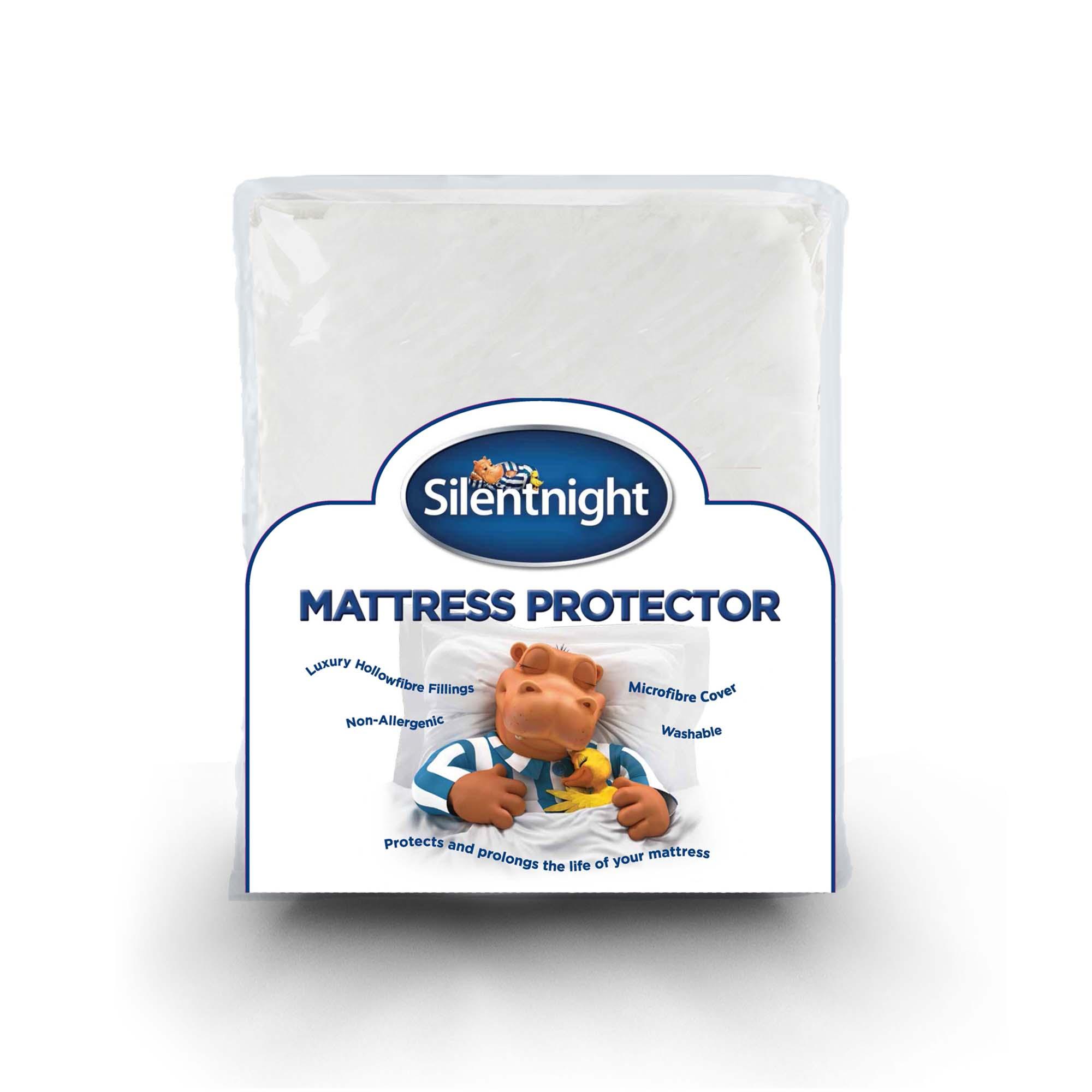Silentnight Premium Quilted Mattress Protector | Silentnight